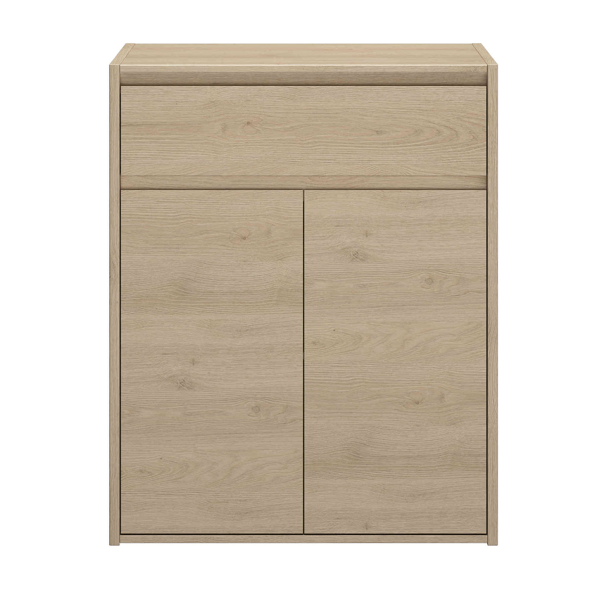 Commode 2 portes 1 tiroir en bois - CO5045-2