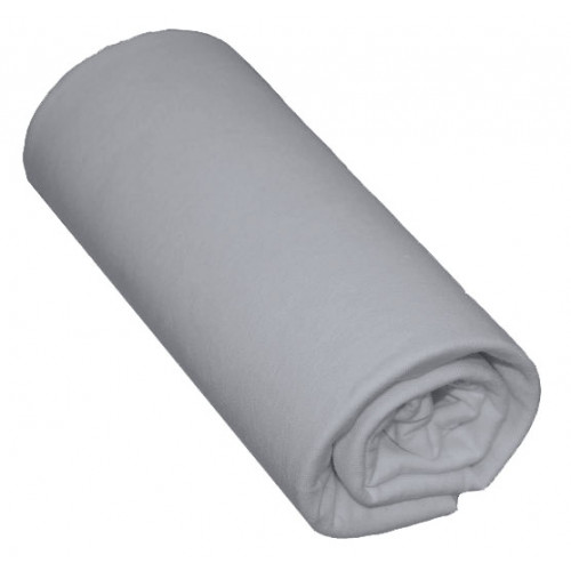 Drap Housse Bébé 100% Coton Gris 60x140 Bonnet 15 cm - Hôtellerie