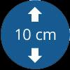 Epaisseur 10 cm