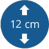 Epaisseur 12 cm
