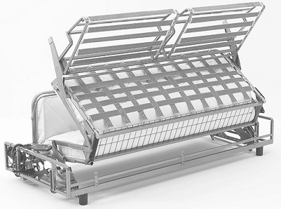 Mécanisme canapé-lit convertible